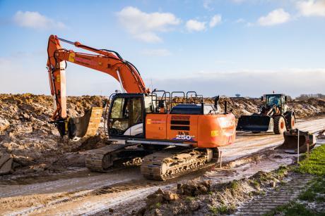 Den rigtige gravemaskine til holdet sikrer nye opgaver