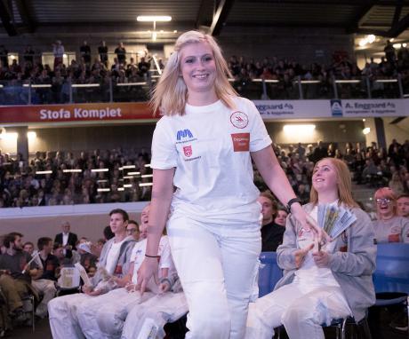 Rebekka tog igen sejren ved DM i Skills