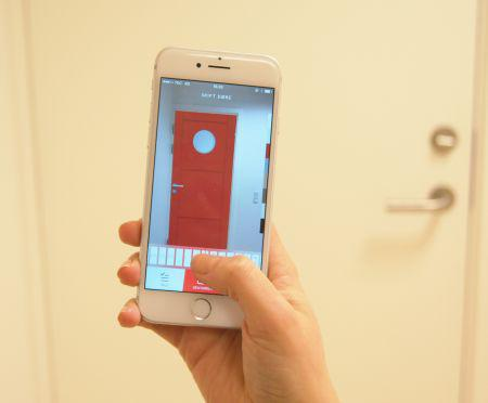 Find den rette dør med ny app