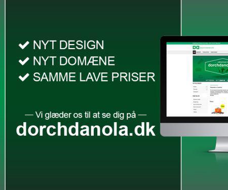 Dorch & Danola sletter netbutik