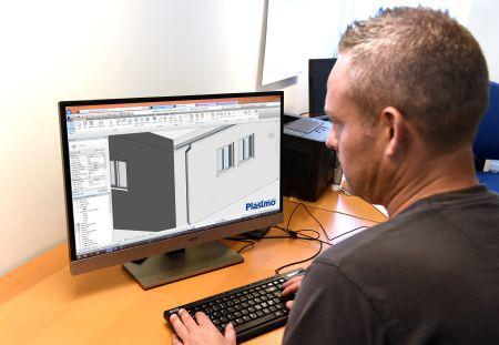 Klar med 3D BIM-objekter af tagrendeløsninger