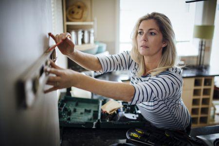 Click-system sikrer lige vinkler i køkkenet