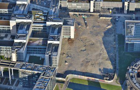 Universitetstorv på Søndre Campus er rykket nærmere