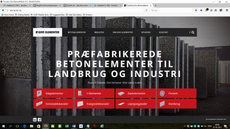 Elementfabrik opgraderer sin digitale profil