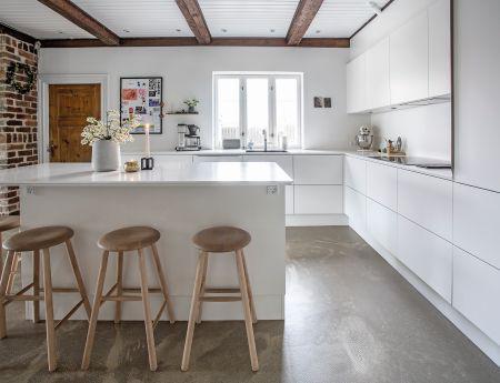 Selv køkkenerne er bæredygtige