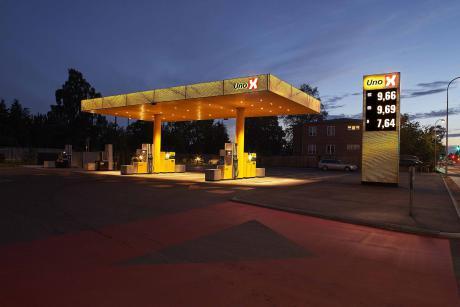 Aalborg-arkitekter designer nye tankstationer