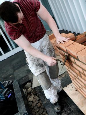 Nye lette mursten til massive indervægge