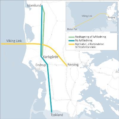Strømkabel til 11 mia. på bunden af Nordsøen