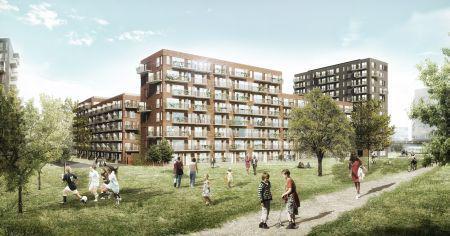 Stenuldsløsning har sat fart på byggeri i Ørestad