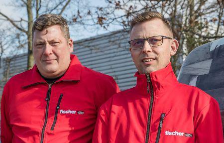 fischer styrker sig med fire nye medarbejdere