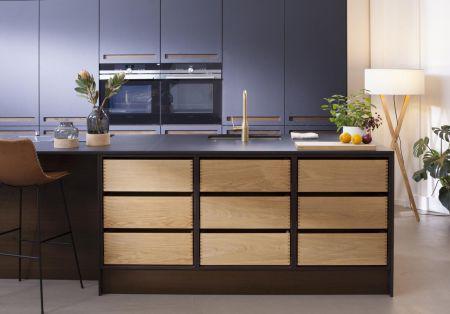 Træ i køkkenet = håndværk og hygge