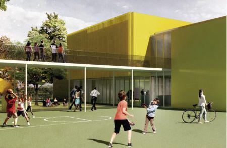 Stor udbygning af Dalby Skole
