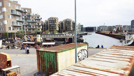 Moderne arkitektur møder det gamle Sydhavn