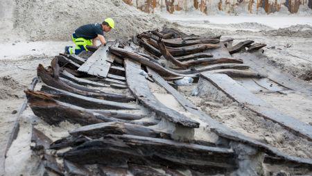 Skibsvrag fundet under Skibet i Køge