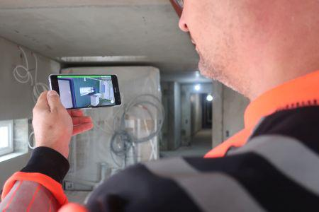 Nu kan man se gennem beton med mobilen