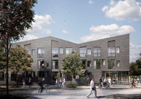 Opfører 140 boliger ved Valby Idrætspark