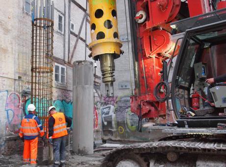 Robot leverer armering til det indre København