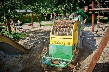 Sand kan gøre en stor forskel for kommunens miljøregnskab
