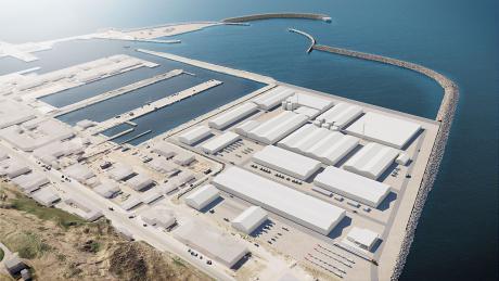 Hanstholm Havn har udlejet 44.000 m2