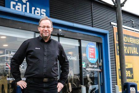 Åbner ny butik med 14.000 varenumre i Slagelse
