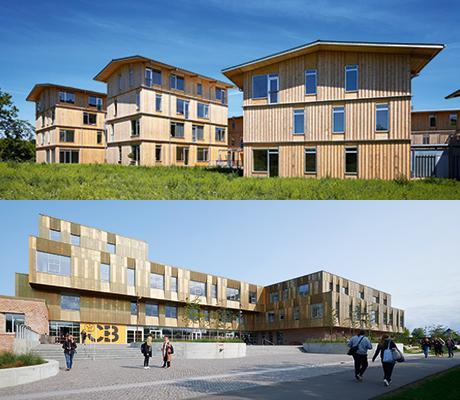 Lisbjerg Bakke og Campus Bornholm vinder Årets Byggeri 2018