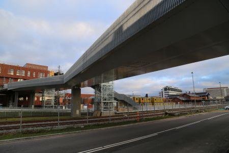 Hærvejsbroen i Viborg åbner