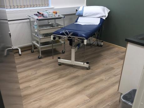 Korkgulve skal give godt arbejdsmiljø på sygehus