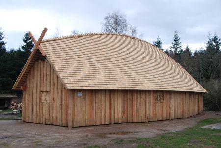 20.000 bæredygtige træspån på ét hus