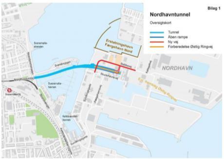 Nordhavnstunnel fra tegnebrædt til byggefase
