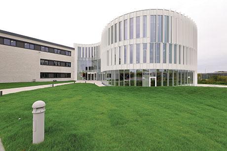 Administrativt hovedsæde og laboratorier