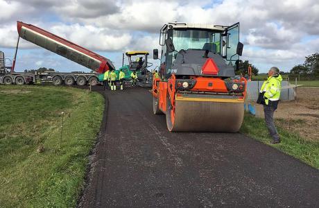 Gammelt asfalt får nyt liv