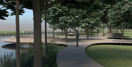 Træpromenade og cirkelbro skal gøre Tønder mere attraktiv