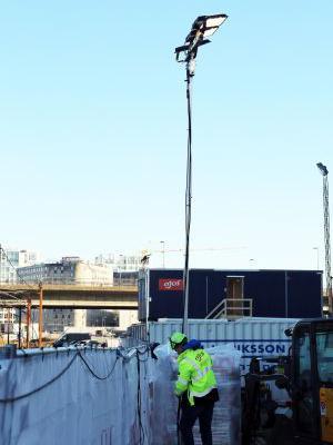 Optimeret lysløsning til de danske byggepladser