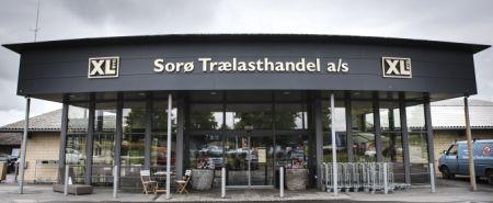Bygma på indkøb i Sorø