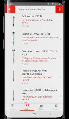 Ny app hjælper med at finde de rigtige skruer og plugs