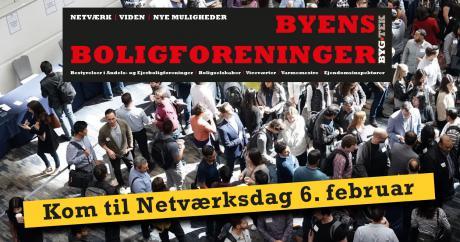 Kom til Netværksdag for Byens Boligforeninger