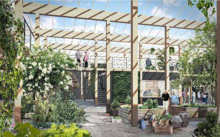 Kom og se Danmarks første seniorvenlige boligfællesskab bygget i træ