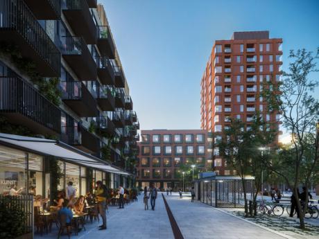Carlsberg Byen: Winge Hus og Grønlunds Tårn er godt på vej