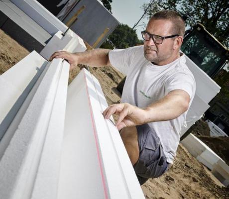 Nyt grønt fundament sparer 2,1 ton CO2 pr hus