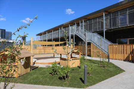 Skaber moderne børneinstitution med pavilloner