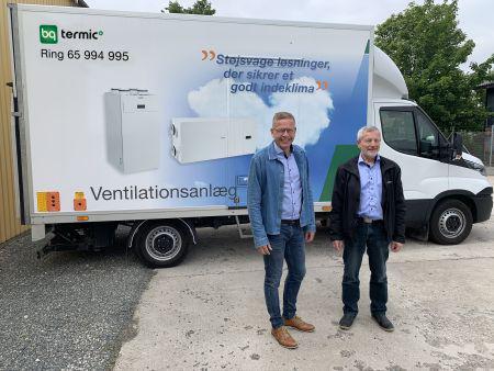 Sammenlægger ventilation og biovarme under nyt navn