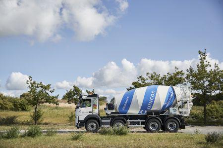Udruller Danmarks første hybride betonbiler