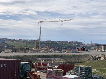 Stor efterspørgsel på Ajos' kraner i Grønland