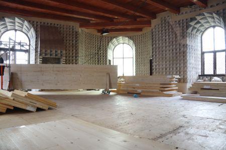 Nyborg Slot restaureres med nye gulve udført i CLT