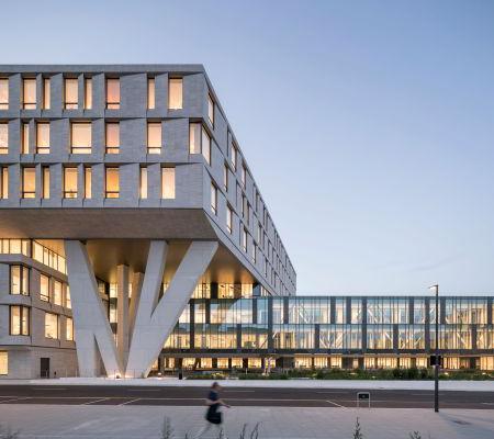 Spektakulært nyt kompleks på Rigshospitalet