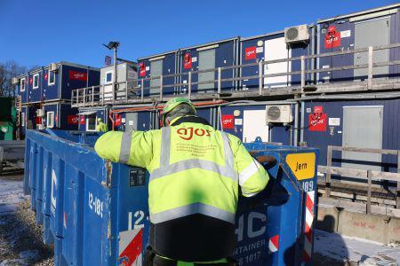 Affaldssortering skaber øget bæredygtighed på byggepladsen