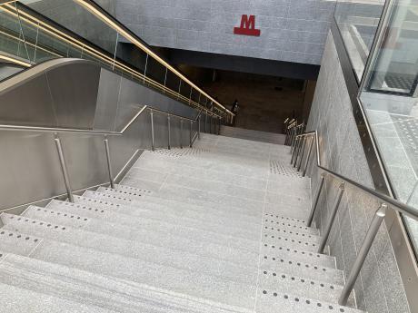 En af Danmarks mest komplekse trapper er åbnet