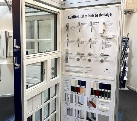 Opdaterer 190 vinduesudstillinger landet over