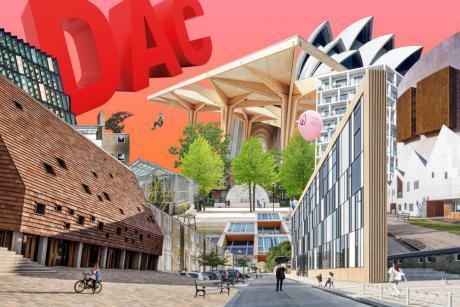 Bag facaden på dansk arkitektur