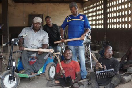 Styrker håndværkeruddannelse i Afrika